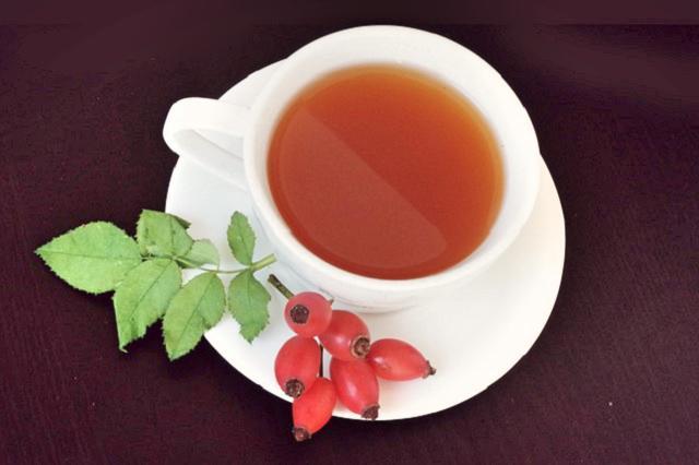 Čaj z čerstvých šípků recept