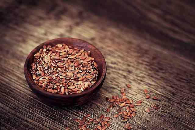 Vláknina v potravinách - lněné semínko